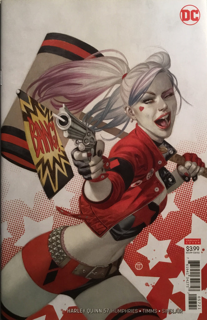 HARLEY QUINN (REBIRTH) # 57 VARIANT COVER FIRST APPEARANCE OF MIRAND'R