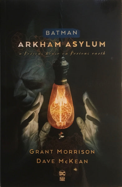BATMAN ARKHAM ASYLUM GRAPHIC NOVEL