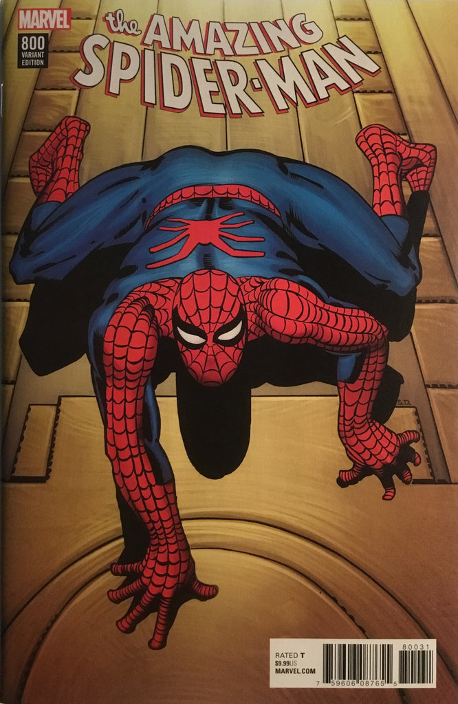 AMAZING SPIDER-MAN (2015-2018) # 800 STEVE DITKO REMASTERED 1:500 VARIANT COVER