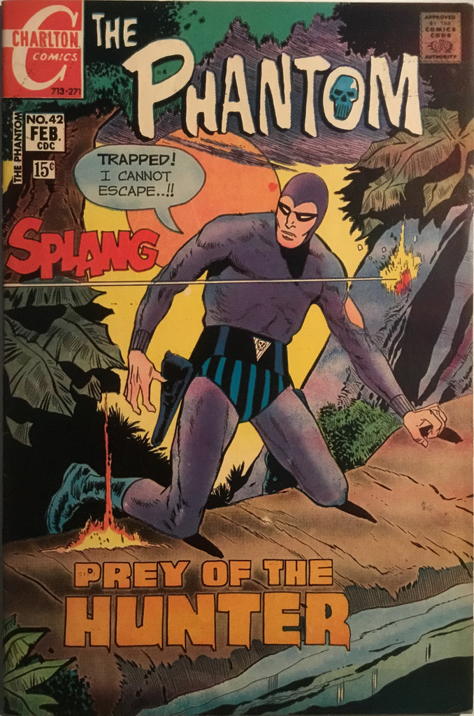 THE PHANTOM (CHARLTON) # 42