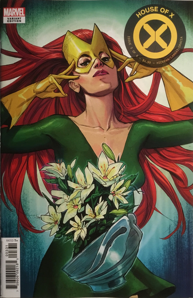 HOUSE OF X # 3 PICHELLI FLOWER VARIANT COVER
