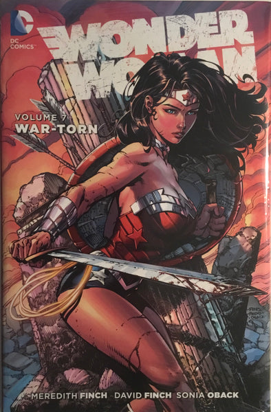 WONDER WOMAN (NEW 52) VOL 7 WAR-TORN HARDCOVER GRAPHIC NOVEL