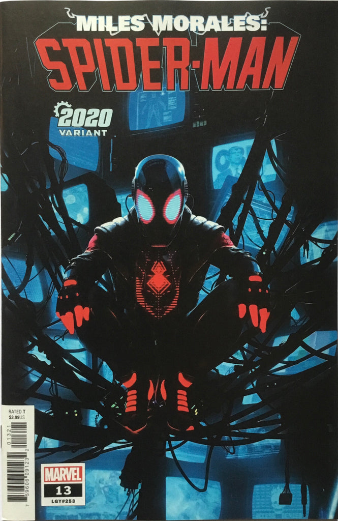 MILES MORALES SPIDER-MAN #13 2020 VARIANT COVER FIRST APPEARANCE OF BILLIE MORALES