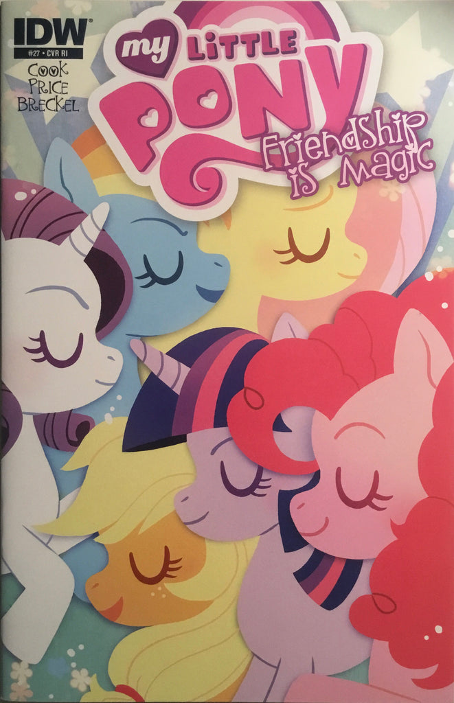 MY LITTLE PONY FRIENDSHIP IS MAGIC #27 RETAILER INCENTIVE 1:10 VARIANT COVER