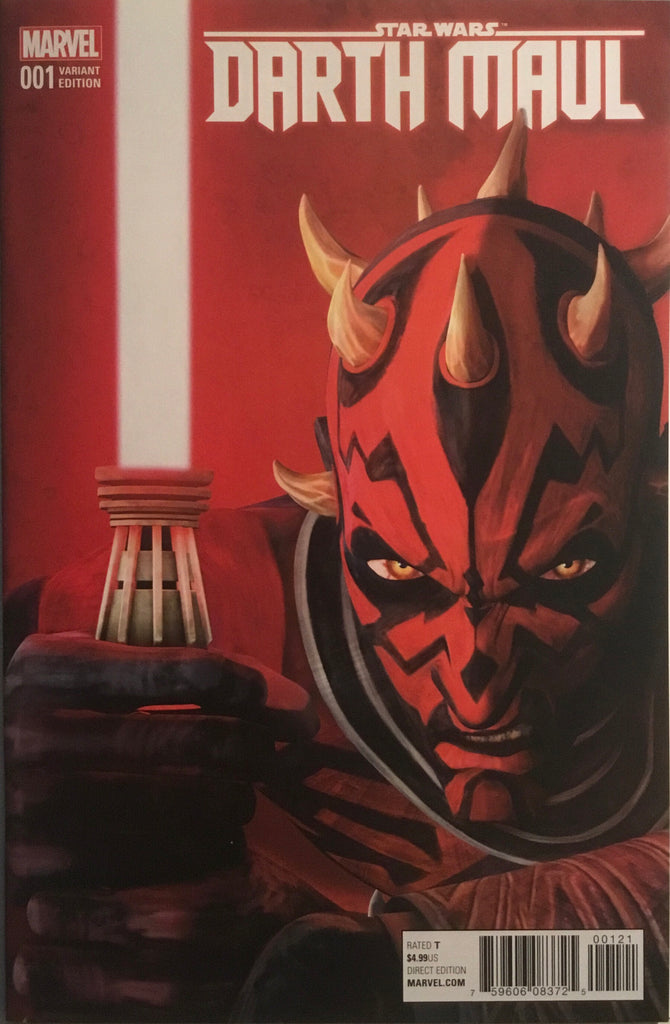 STAR WARS DARTH MAUL (2017) # 1 ANIMATION 1:10 VARIANT COVER