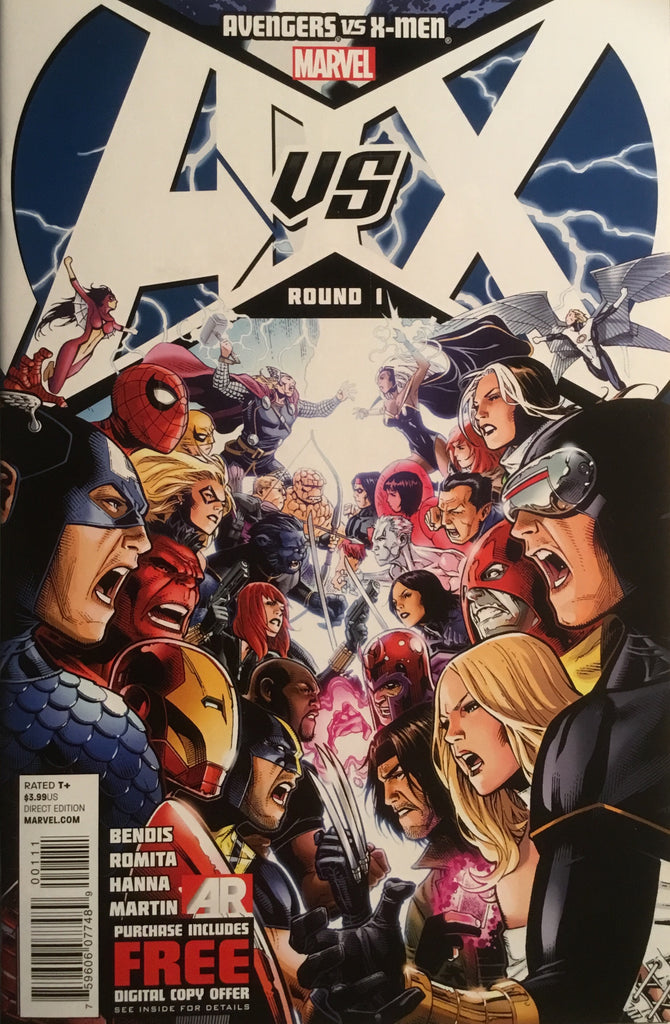 AVENGERS VS X-MEN # 1 FIRST PRINTING