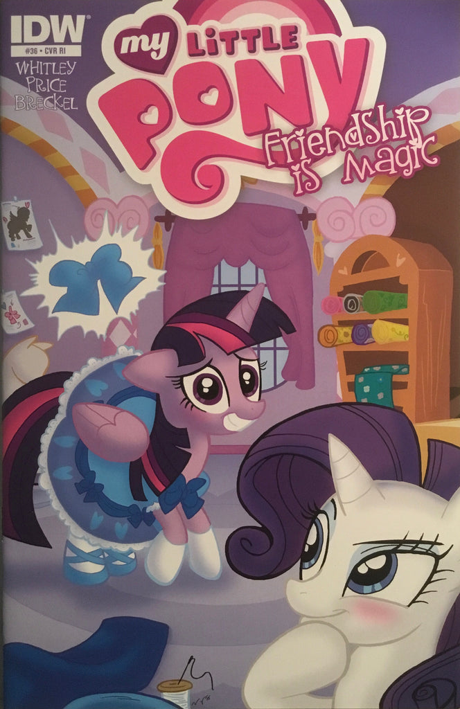 MY LITTLE PONY FRIENDSHIP IS MAGIC #36 RETAILER INCENTIVE 1:10 VARIANT COVER