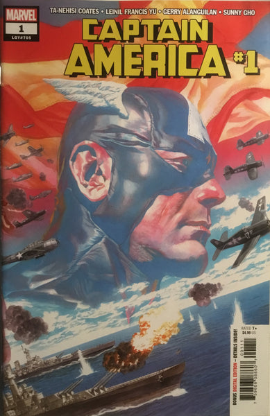 CAPTAIN AMERICA (2018) # 1 ALEX ROSS COVER