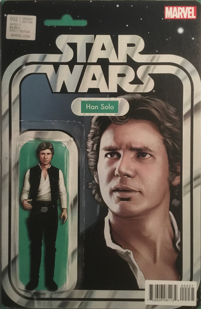 STAR WARS (2015-2020) # 2 ACTION FIGURE VARIANT COVER