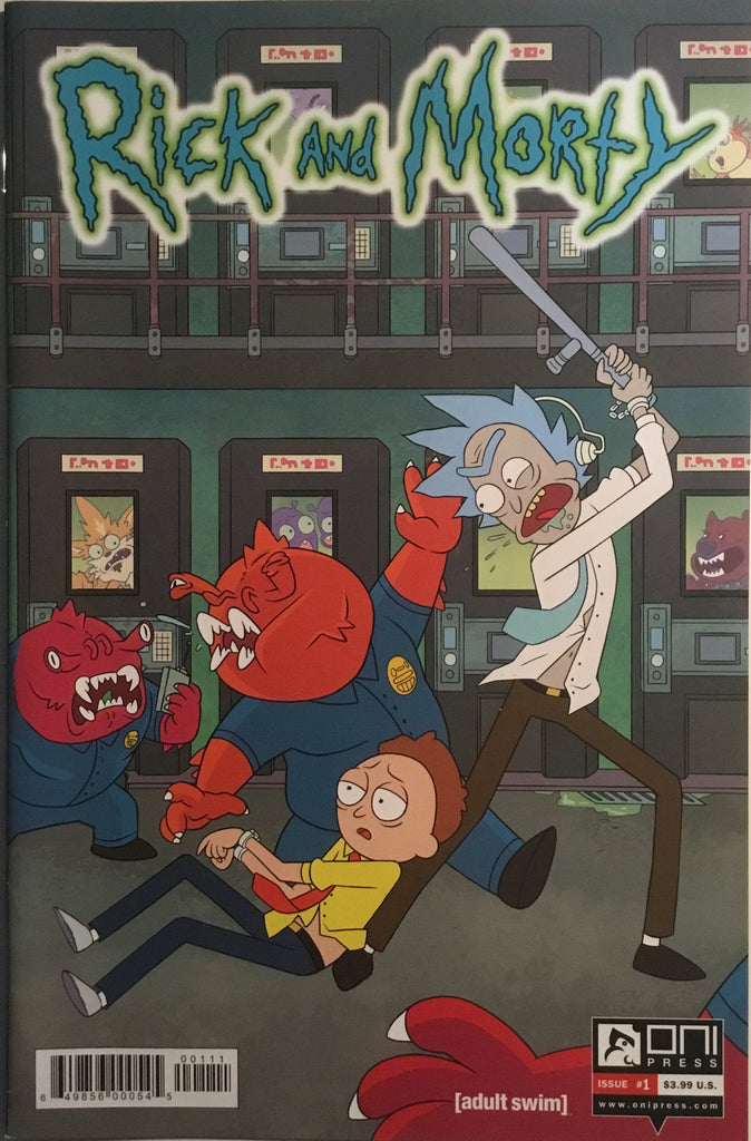 RICK AND MORTY # 1 FIRST PRINTING