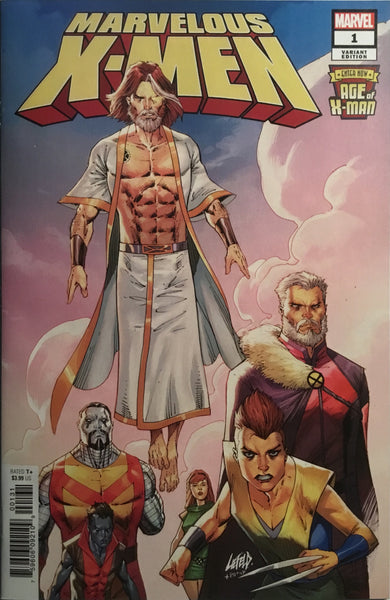 AGE OF X-MAN : THE MARVELOUS X-MEN # 1 LIEFELD 1:50 VARIANT COVER