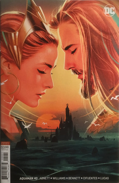 AQUAMAN (REBIRTH) # 40 VARIANT COVER