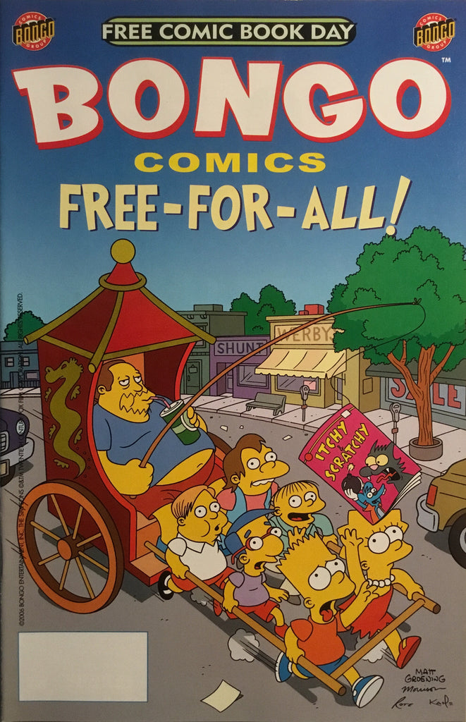 SIMPSONS BONGO COMICS FREE COMIC BOOK DAY 2006