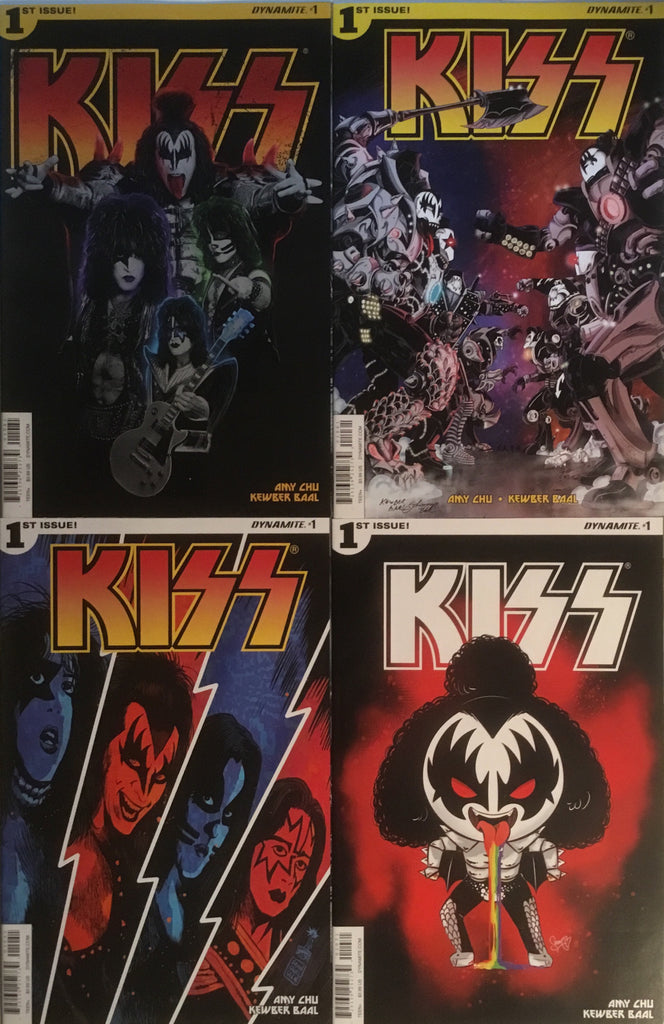 KISS (2016) # 1 SET OF EIGHT VARIANT COVERS