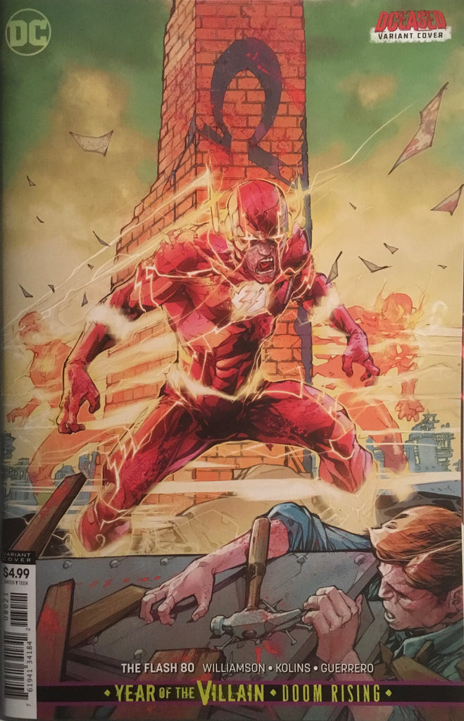 FLASH (REBIRTH) # 80 VARIANT COVER