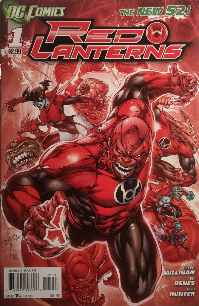 RED LANTERNS (NEW 52) # 01 FIRST PRINTING