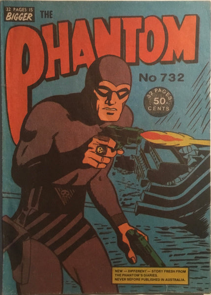 THE PHANTOM # 732