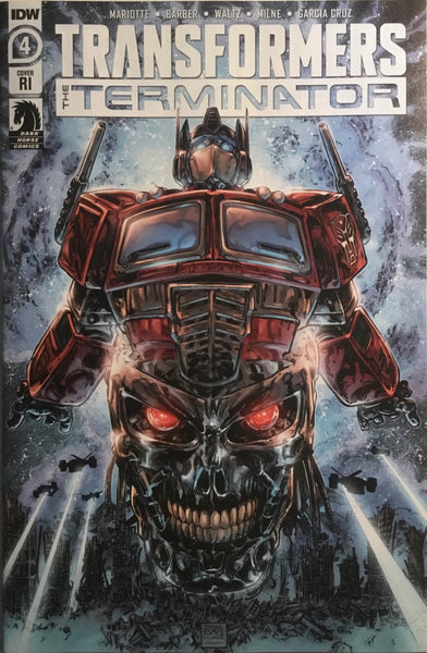 TRANSFORMERS VS THE TERMINATOR # 4 1:10 VARIANT COVER
