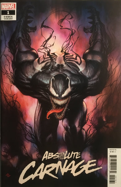 ABSOLUTE CARNAGE # 1 GRANOV 1:25 VARIANT COVER