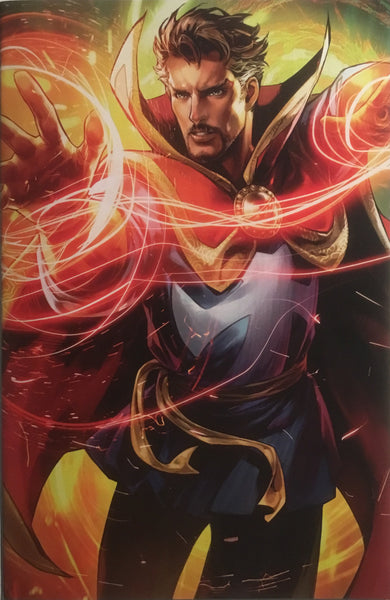DOCTOR STRANGE (2018-) # 6 BATTLE LINES VARIANT COVER