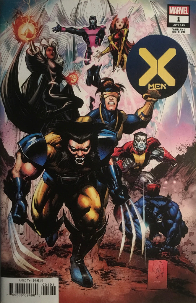X-MEN (2019) # 1 PORTACIO 1:25 VARIANT COVER