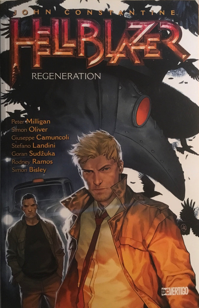 HELLBLAZER VOL 22 REGENERATION GRAPHIC NOVEL