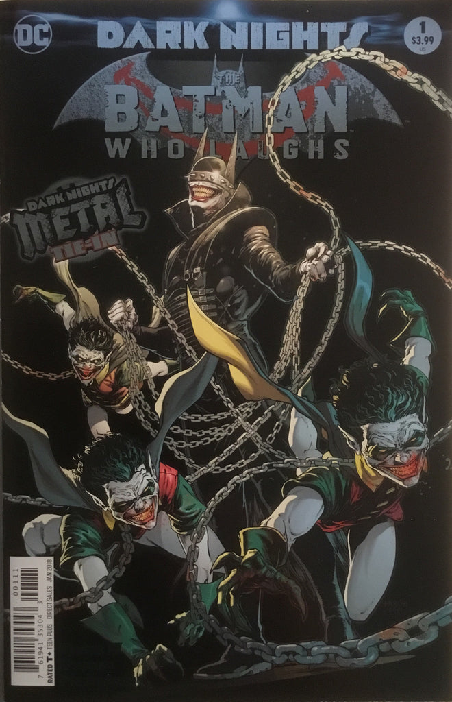 THE BATMAN WHO LAUGHS ONE-SHOT FIRST PRINTING