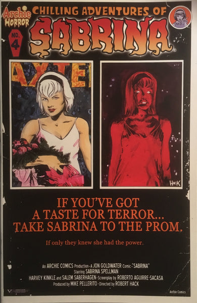 CHILLING ADVENTURES OF SABRINA # 4 (COVER B)