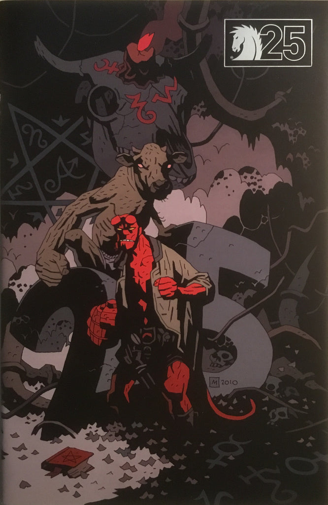 HELLBOY BUSTER OAKLEY GETS HIS WISH 25TH ANNIVERSARY VARIANT COVER