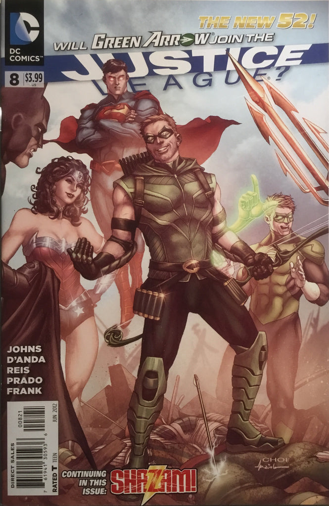 JUSTICE LEAGUE (THE NEW 52) # 08 CHOI 1:25 VARIANT