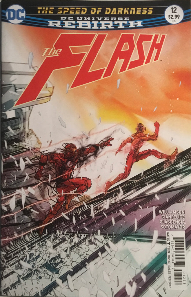 FLASH (REBIRTH) # 12