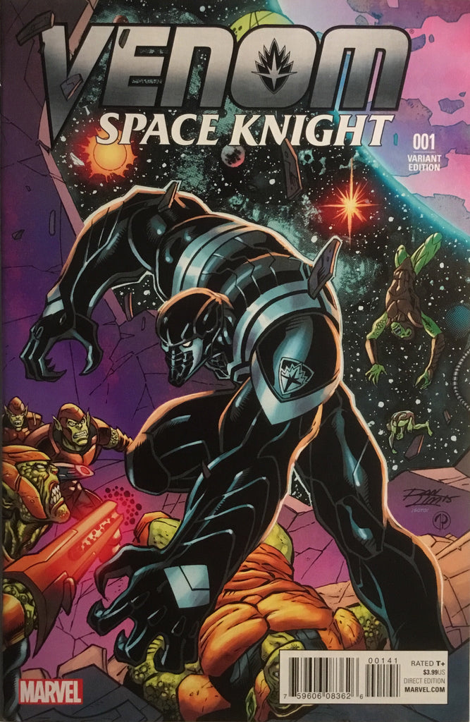 VENOM SPACE KNIGHT # 1 LIM 1:25 VARIANT COVER