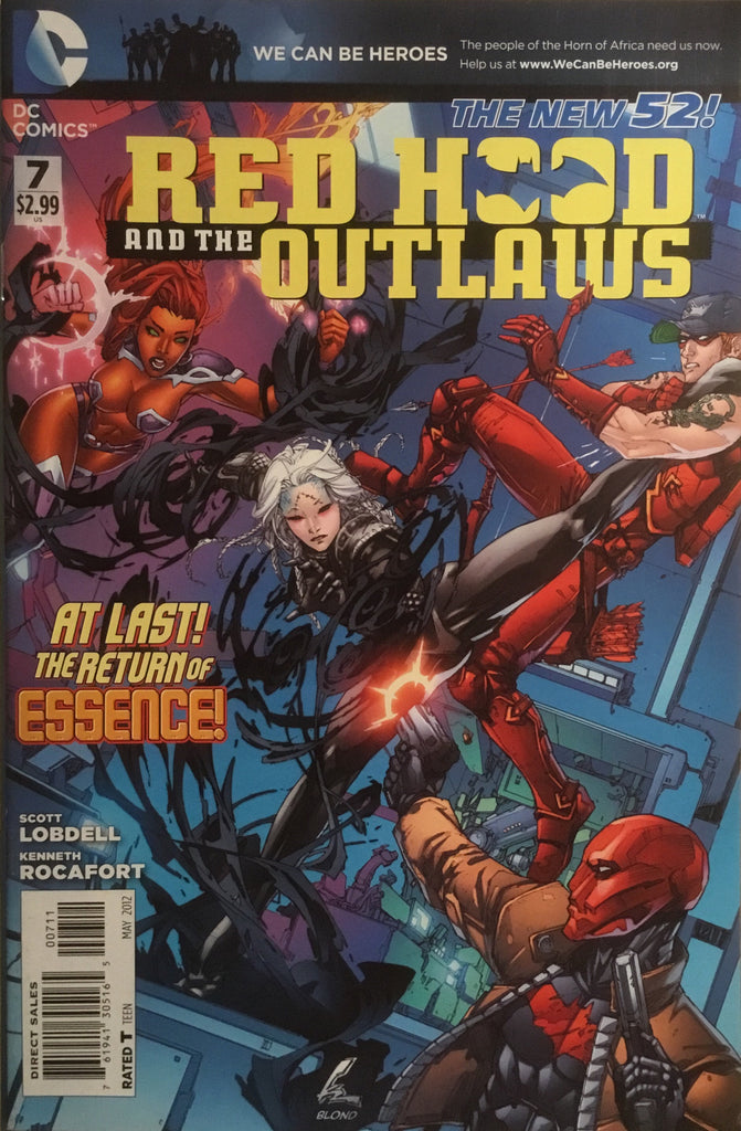 RED HOOD AND THE OUTLAWS (THE NEW 52) # 07