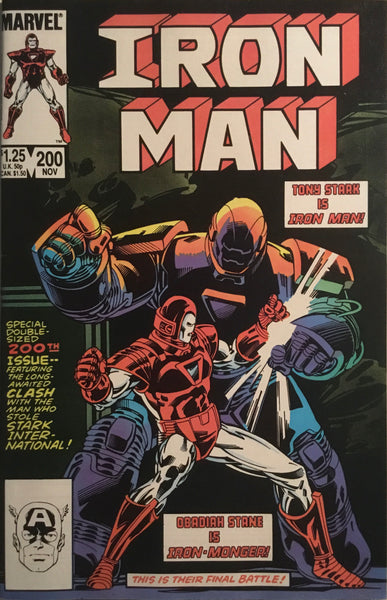 IRON MAN (1968-1996) #200 FIRST FULL APPEARANCE OF IRON-MONGER
