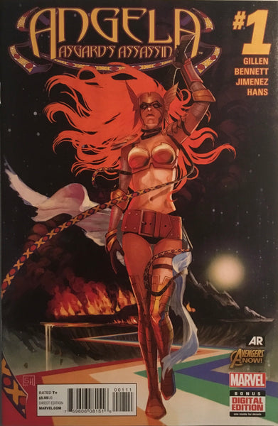 ANGELA ASGARD'S ASSASSIN # 1 FIRST APPEARANCE OF SERA AND LAUSSA