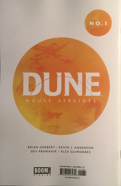 DUNE HOUSE ATREIDES # 1 RETAILER LIMITED EDITION