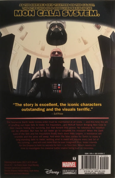 STAR WARS DARTH VADER DARK LORD OF THE SITH (MARVEL)  VOL 3 THE BURNING SEAS GRAPHIC NOVEL