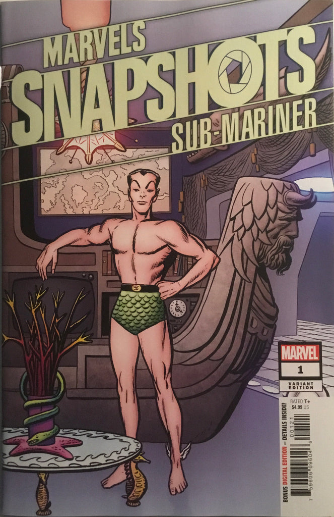 SUB-MARINER MARVELS SNAPSHOT # 1 KIRBY HIDDEN GEM 1:50 VARIANT COVER