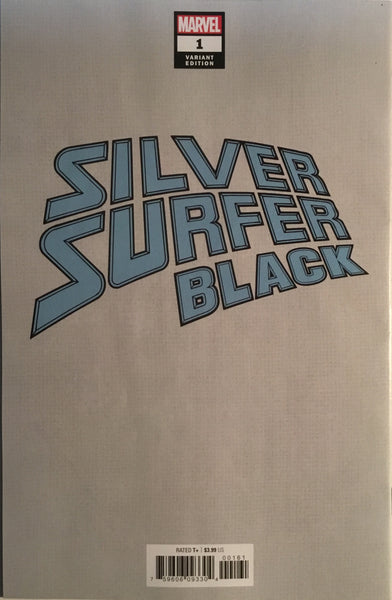 SILVER SURFER BLACK # 1 BRADSHAW 1:100 VIRGIN VARIANT COVER