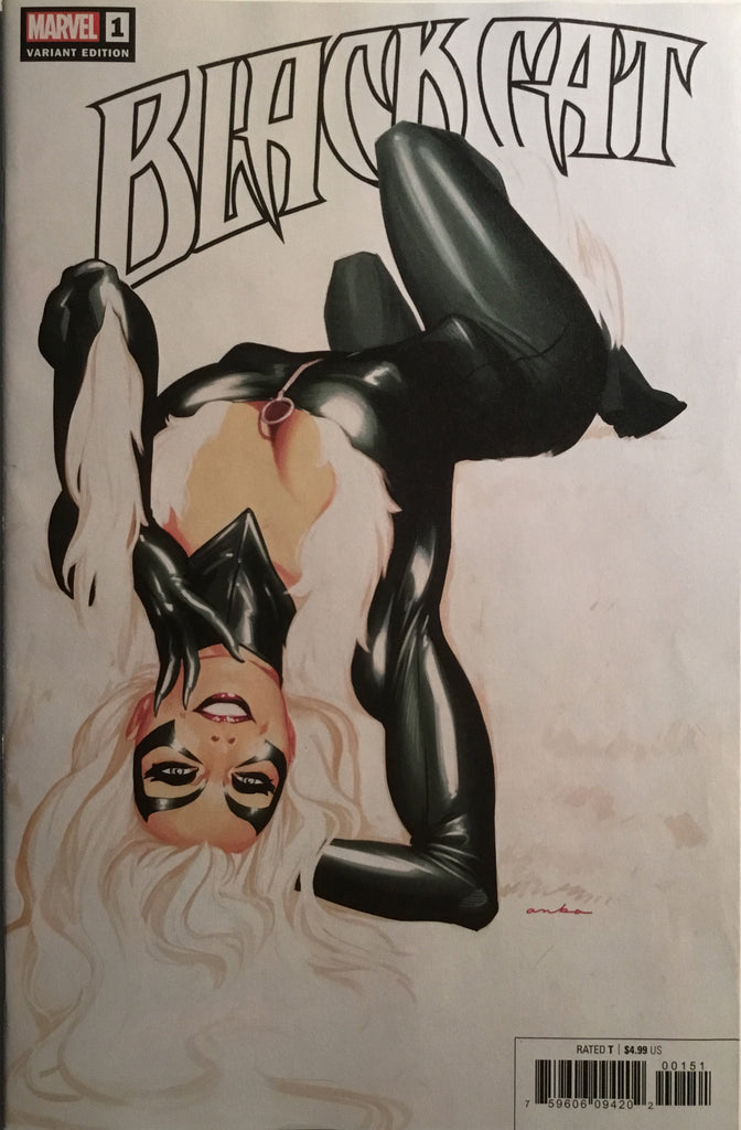 BLACK CAT # 1 ANKA 1:25 VARIANT COVER