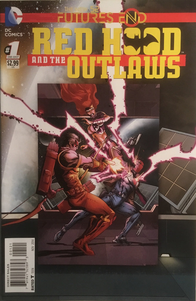 RED HOOD AND THE OUTLAWS (THE NEW 52) FUTURE'S END # 1