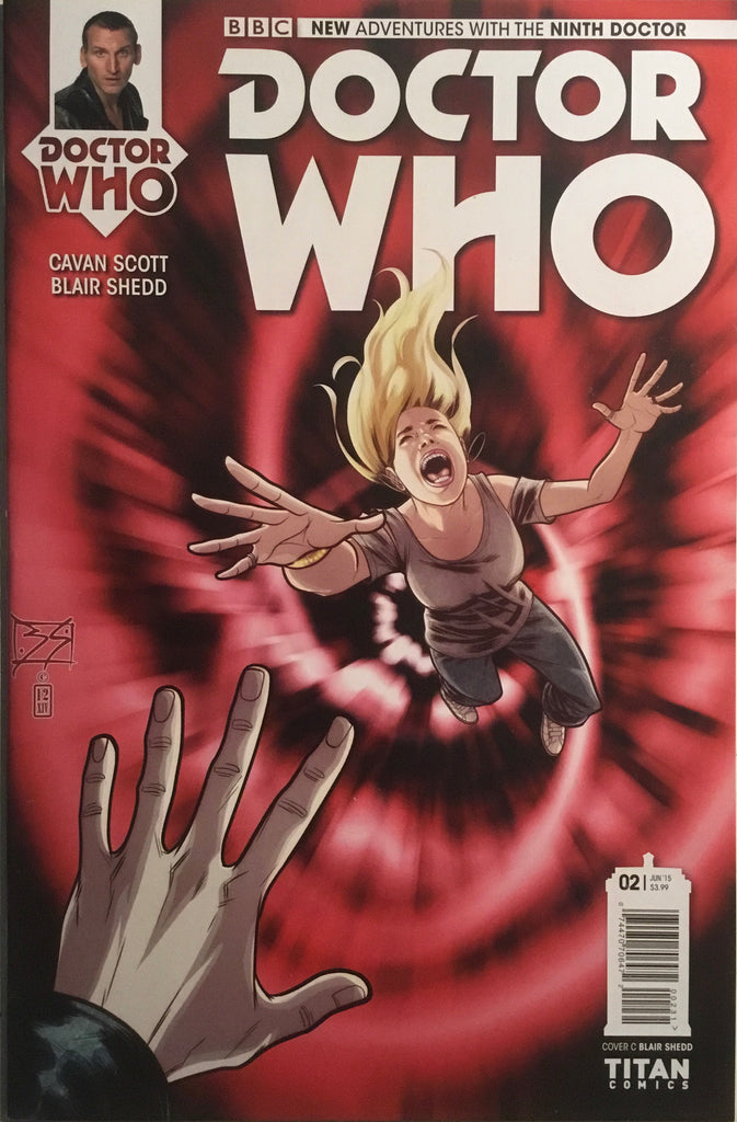 DOCTOR WHO THE 9TH DOCTOR # 2  (1:10 VARIANT)