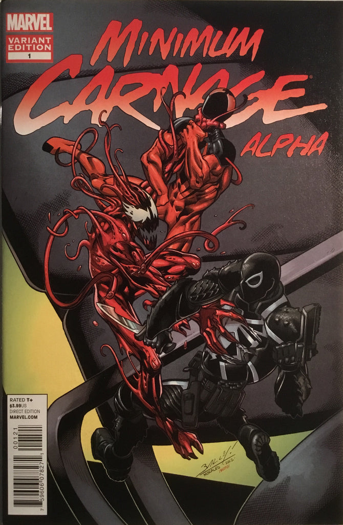 MINIMUM CARNAGE ALPHA ONE-SHOT BAGLEY 1:25 VARIANT COVER