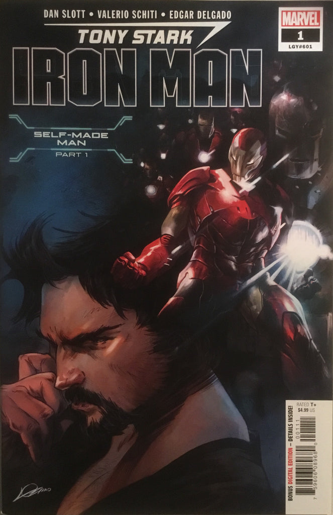 TONY STARK IRON MAN # 1