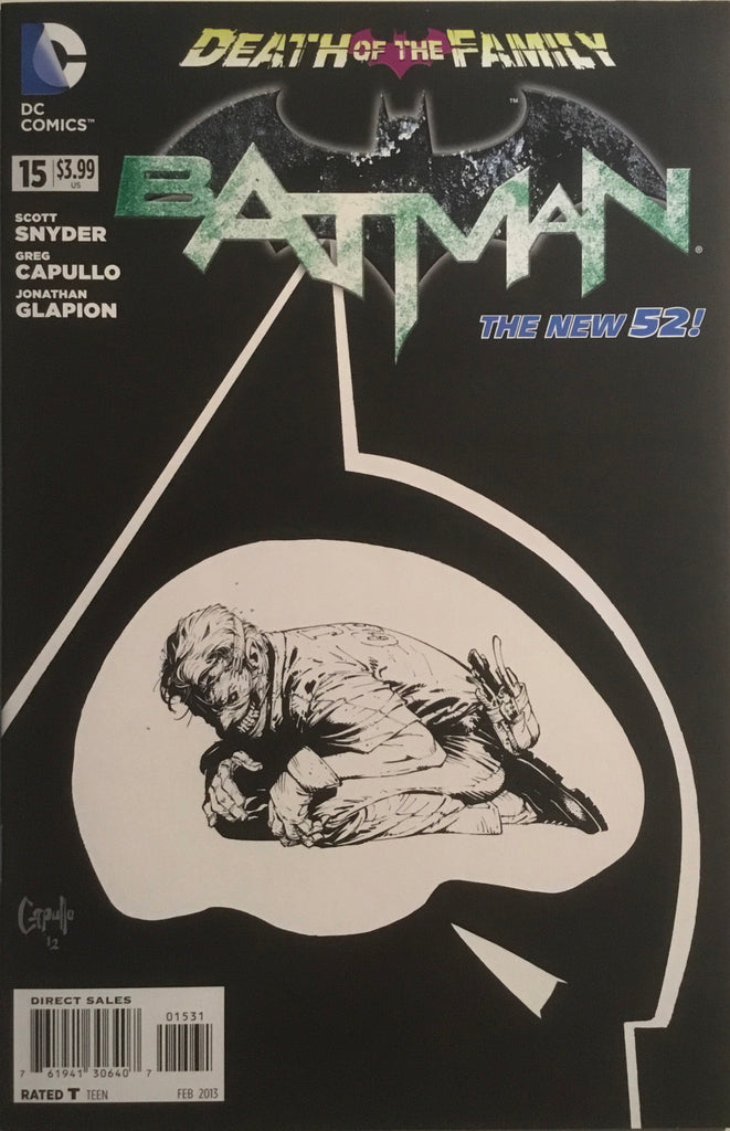 BATMAN (THE NEW 52) #15 CAPULLO 1:100 VARIANT COVER