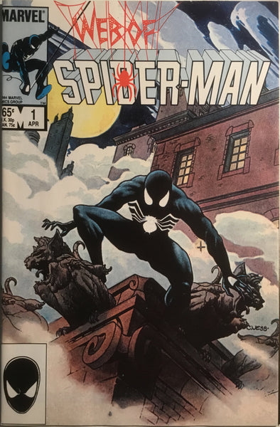 WEB OF SPIDER-MAN # 01