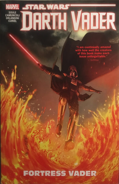 STAR WARS DARTH VADER DARK LORD OF THE SITH (MARVEL) VOL 4 FORTRESS VADER GRAPHIC NOVEL