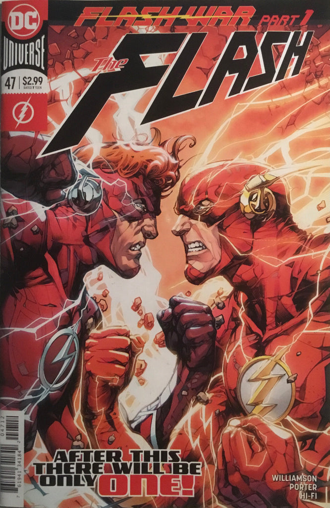 FLASH (REBIRTH) # 47