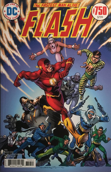FLASH #750 REGULAR COVER + 8 DECADE COVERS **FREE SHIPPING**