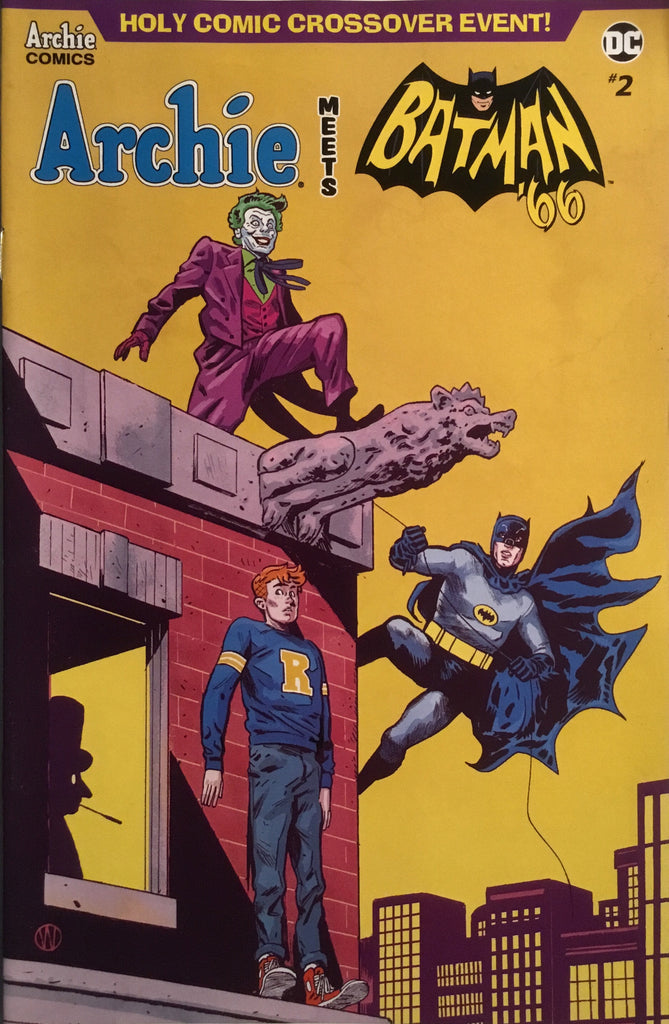 ARCHIE MEETS BATMAN '66 #2 WALSH COVER